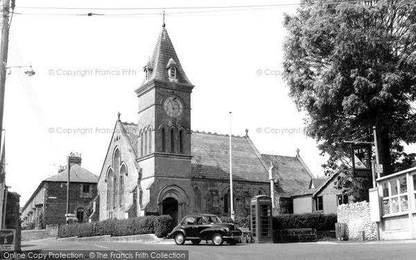 Photo of Wroxall, St John's Church c.1960