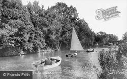 Backwater c.1955, Wroxham