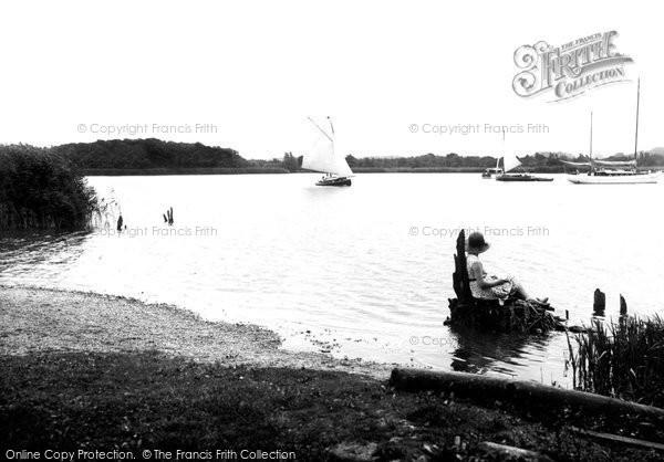 Photo of Wroxham, Broad 1934