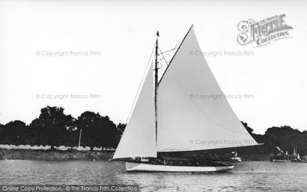 Photo of Wroxham, Broad c.1950