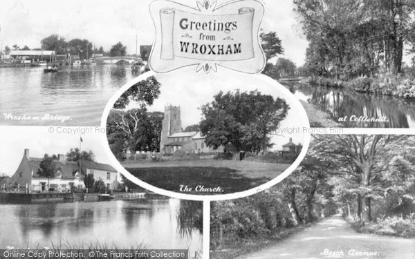 Photo of Wroxham, Composite c.1940