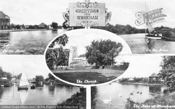 Photo of Wroxham, Composite c.1940