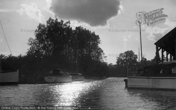 Photo of Wroxham, Evening On The Bure c.1950