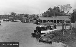 King's Head Wharf c.1940, Wroxham
