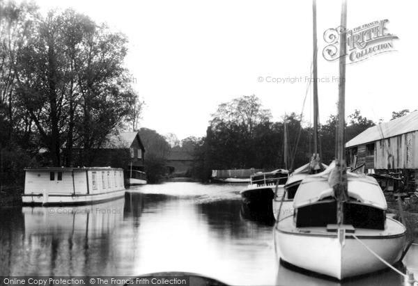 Photo of Wroxham, Loyne's Dyke c.1940