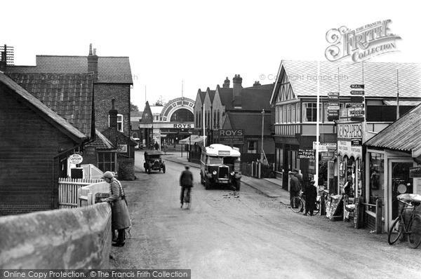 Photo of Wroxham, Near The Bridge c.1940
