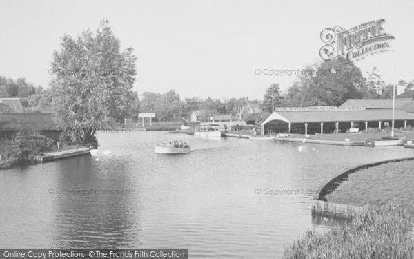 Photo of Wroxham, Near The Bridge c.1950