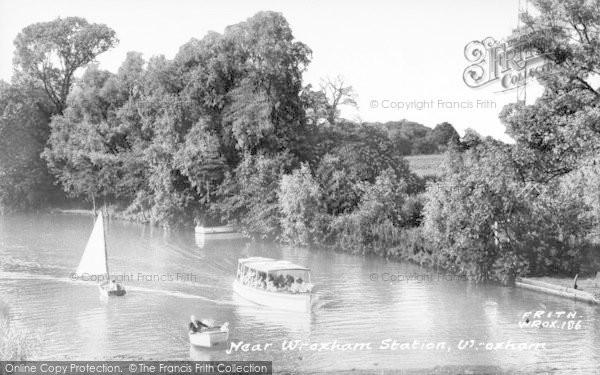 Photo of Wroxham, Near Wroxham Station c.1955