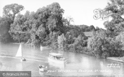 Wroxham, Near Wroxham Station c.1955