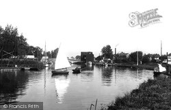 Wroxham, On The Bure 1921