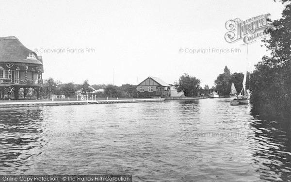 Photo of Wroxham, On The Bure 1925