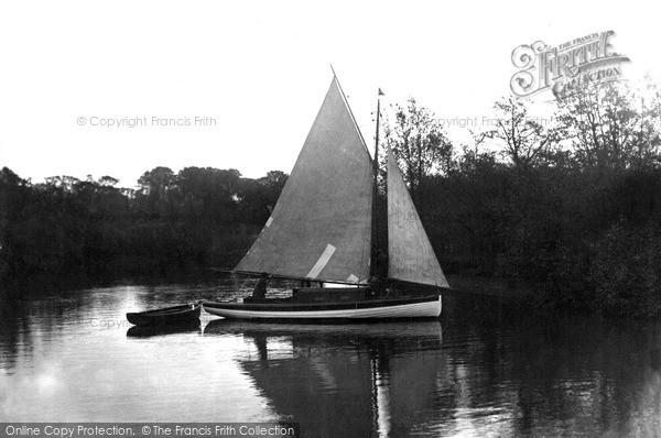 Photo of Wroxham, On The Bure c.1940