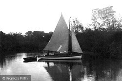 On The Bure c.1940, Wroxham