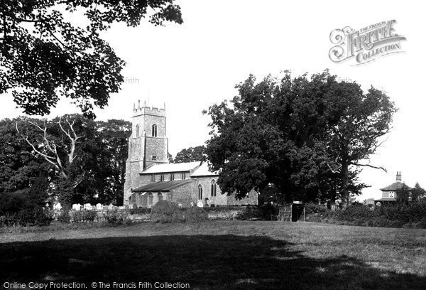 Photo of Wroxham, St Mary's Church 1921