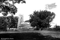St Mary's Church 1921, Wroxham