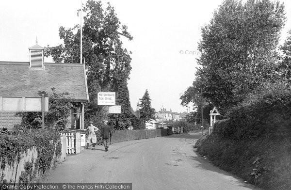 Photo of Wroxham, Station Road 1921