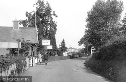 Station Road 1921, Wroxham