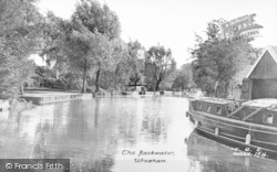 Wroxham, The Backwater c.1950