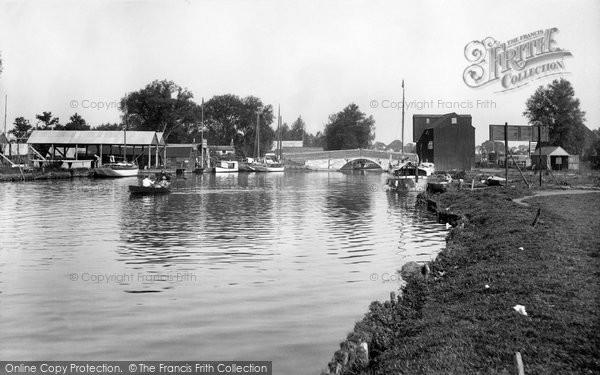 Photo of Wroxham, The Bridge 1921