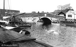 Wroxham, The Bridge 1934