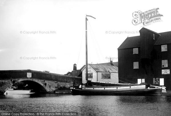 Photo of Wroxham, The Bridge c.1950