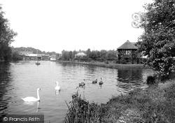 The River Bure 1921, Wroxham
