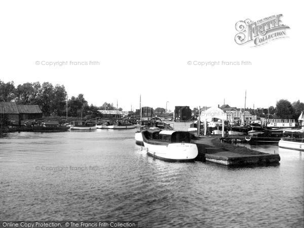 Photo of Wroxham, The River Bure c.1950