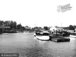 The River Bure c.1950, Wroxham