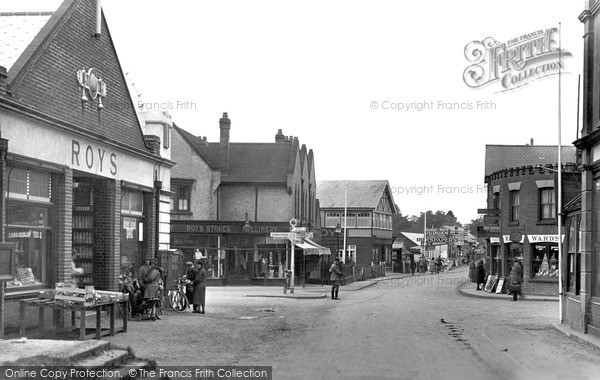 Photo of Wroxham, The Village c.1940