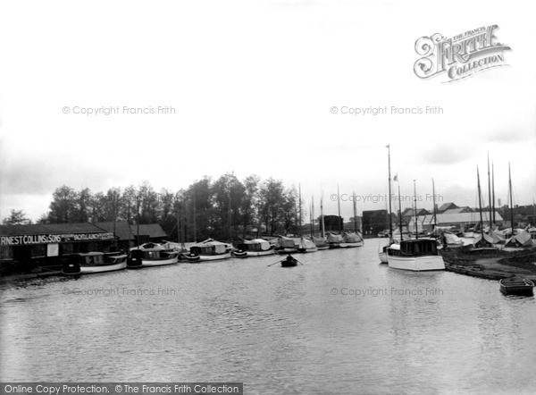 Photo of Wroxham, The Yacht Basin c.1940