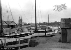 Wroxham, The Yacht Station c.1940