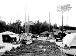 Wroxham, The Yacht Yard c.1940