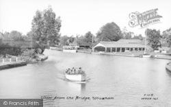 Wroxham, View From The Bridge c.1950