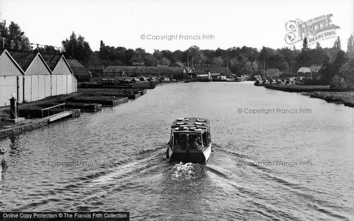 Photo of Wroxham, View From The Bridge c.1950