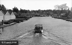 View From The Bridge c.1950, Wroxham