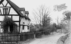 A Worcestershire Lane c.1950, Wychbold