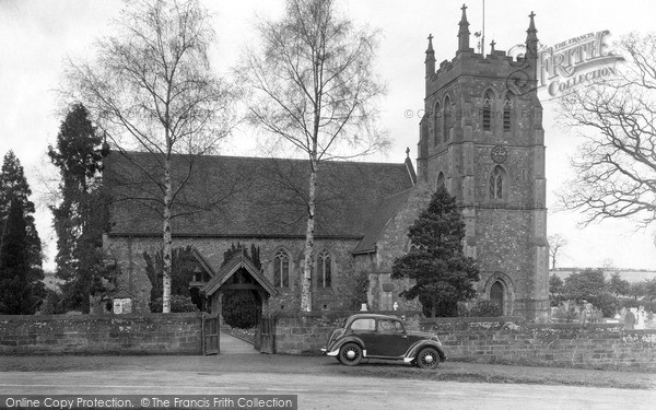 Photo of Wychbold, St Mary De Wych Church c.1950