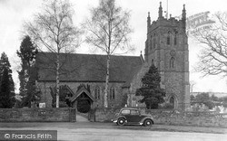 St Mary-De-Wych Church c.1950, Wychbold