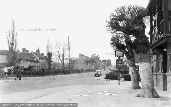 Photo of Wychbold, The Cross Roads c.1950