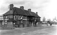 Wychbold, the Crown Hotel c1950