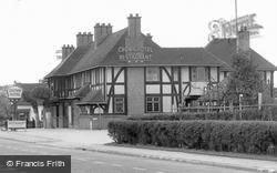 The Crown Hotel & Restaurant c.1950, Wychbold