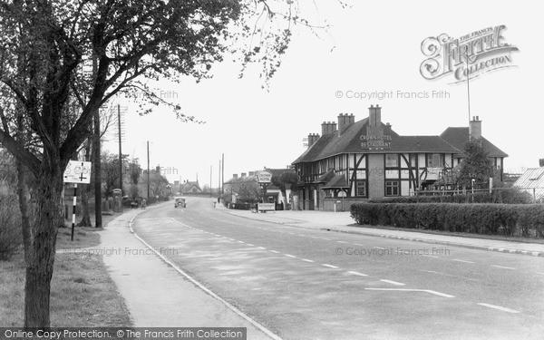 Photo of Wychbold, The Main Road c.1950