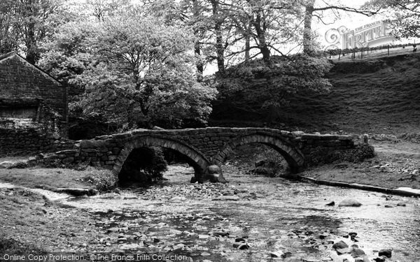 Photo of Wycoller, The Pack Horse Bridge c.1955