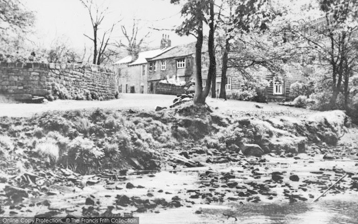 Photo of Wycoller, The Village c.1955