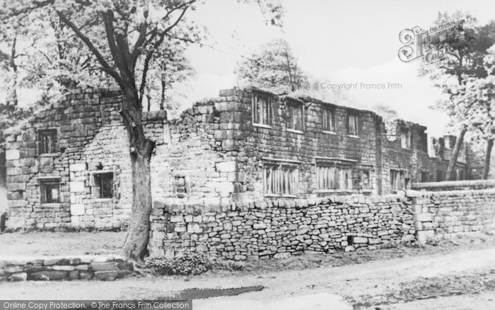 Photo of Wycoller, Wycoller Hall c.1955