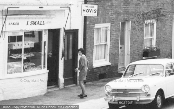 Photo of Wye, Baker, Church Street c.1965