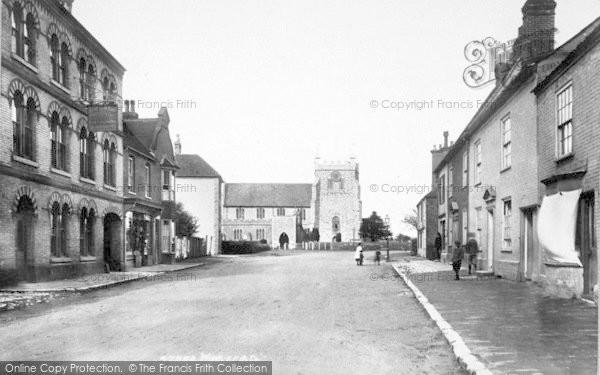 Photo of Wye, Church Street 1901