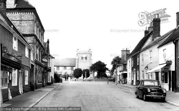 Photo of Wye, Church Street c.1955
