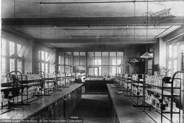 Photo of Wye, College, Chemical Laboratory 1906