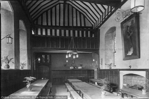 Photo of Wye, College, Dining Hall 1906